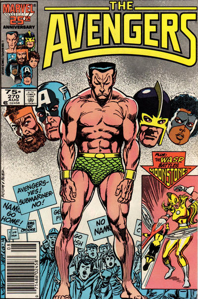 Cover for The Avengers (Marvel, 1963 series) #270 [Newsstand Edition]
