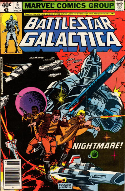 Cover for Battlestar Galactica (Marvel, 1979 series) #6 [Direct Edition]