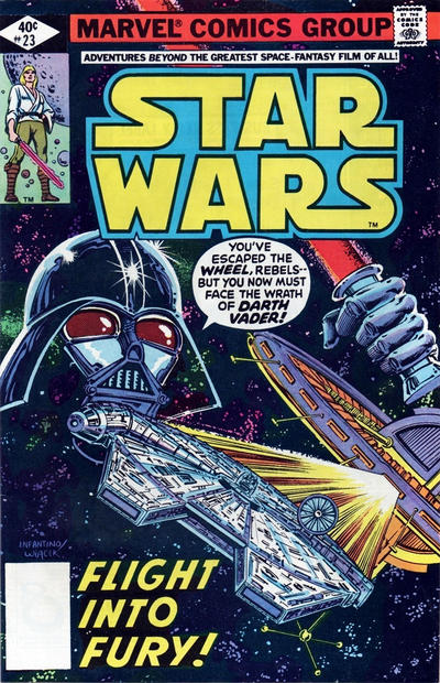 Cover for Star Wars (Marvel, 1977 series) #23 [Direct Edition]
