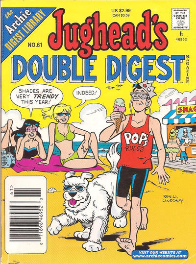 Cover for Jughead's Double Digest (Archie, 1989 series) #61 [Direct Edition]
