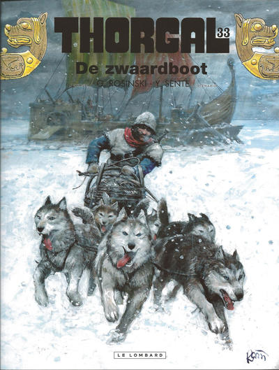 Cover for Thorgal (Le Lombard, 1980 series) #33 - De zwaardboot