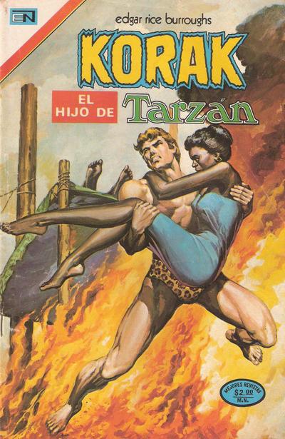Cover for Korak (Editorial Novaro, 1972 series) #21