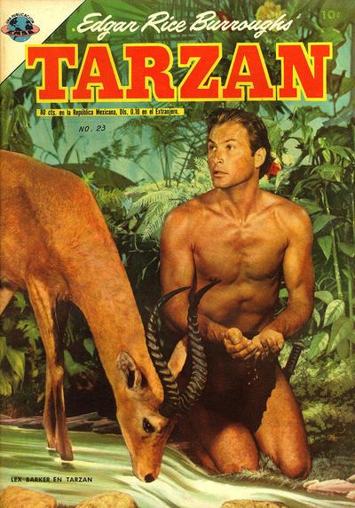 Cover for Tarzán (Editorial Novaro, 1951 series) #23