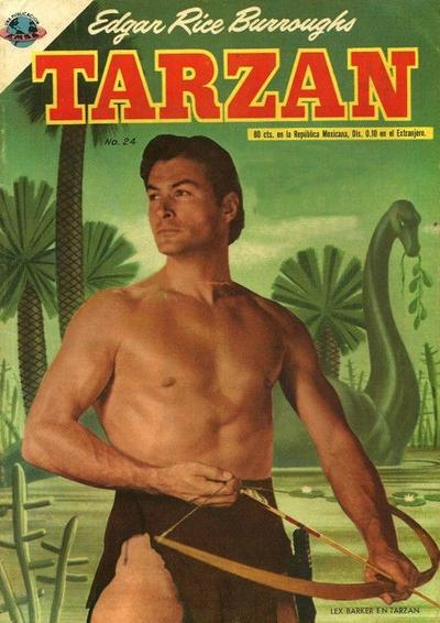 Cover for Tarzán (Editorial Novaro, 1951 series) #24