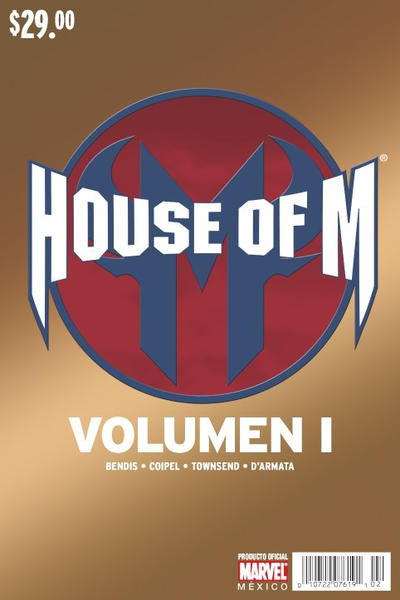 Cover for House of M (Editorial Televisa, 2006 series) #1