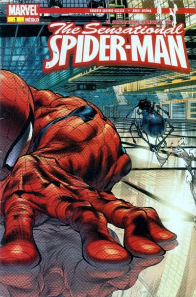 Cover for The Sensational Spider-Man, el Sensacional Hombre Araña (Editorial Televisa, 2008 series) #1