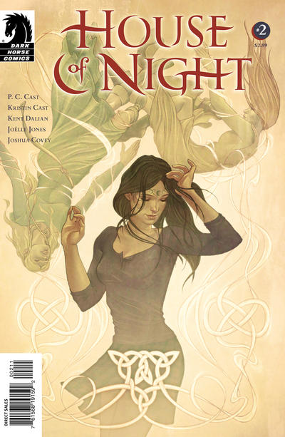 Cover for House of Night (Dark Horse, 2011 series) #2