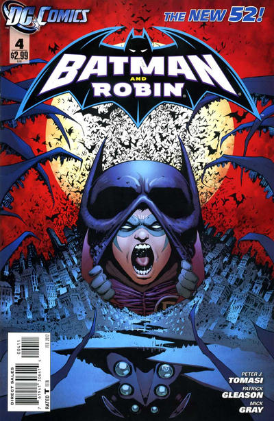 Cover for Batman and Robin (DC, 2011 series) #4