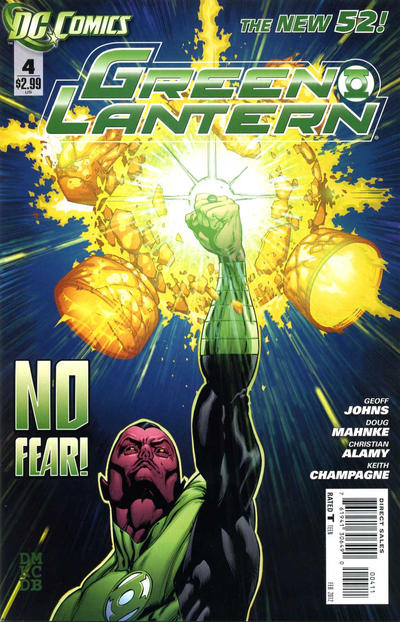 Cover for Green Lantern (DC, 2011 series) #4 [Francis Manapul Cover]