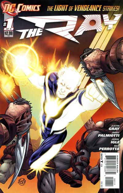 Cover for The Ray (DC, 2012 series) #1