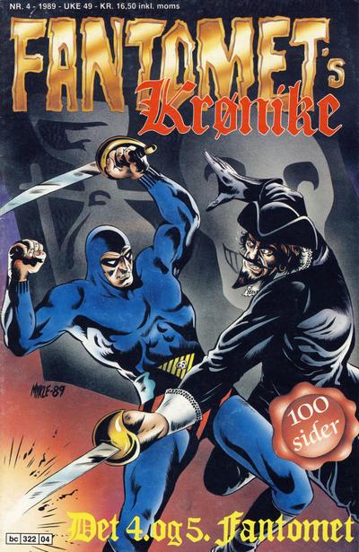 Cover for Fantomets krønike (Semic, 1989 series) #4/1989