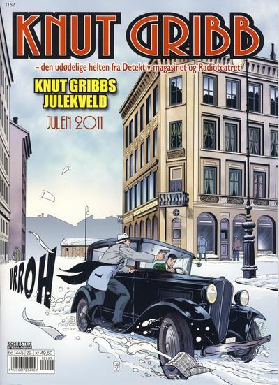 Cover for Knut Gribb (Bladkompaniet / Schibsted, 2010 series) #2011