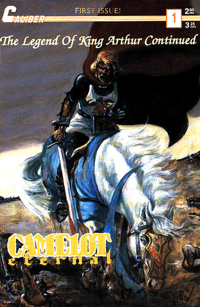 Cover for Camelot Eternal (Caliber Press, 1990 series) #1