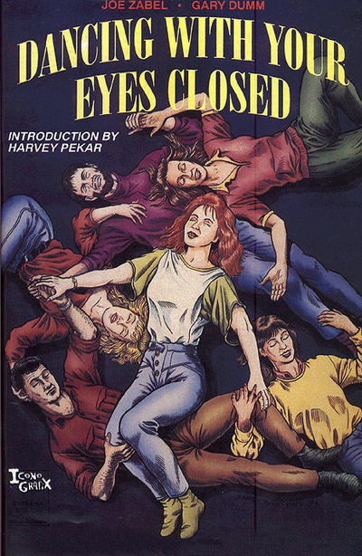 Cover for Dancing With Your Eyes Closed (Caliber Press, 1992 series)