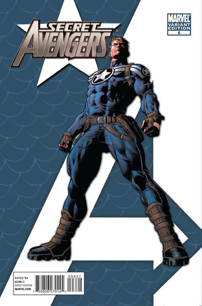 Cover for Secret Avengers (Marvel, 2010 series) #6
