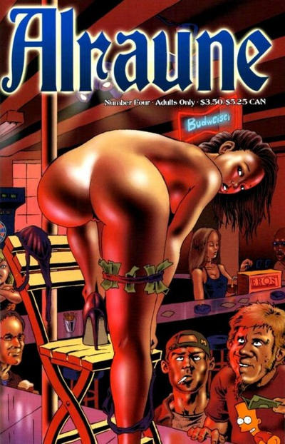 Cover for Alraune (Fantagraphics, 2001 series) #4