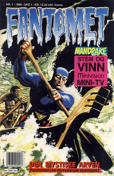 Cover for Fantomet (Semic, 1976 series) #1/1990
