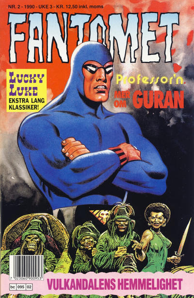 Cover for Fantomet (Semic, 1976 series) #2/1990