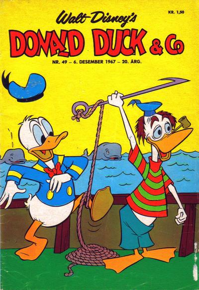 Cover for Donald Duck & Co (Hjemmet / Egmont, 1948 series) #49/1967