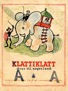 Cover for Klattiklatt (Halvorsens bokhandel, 1940 series) #4
