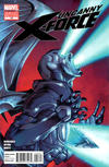 """Cover for Uncanny X-Force (Marvel, 2010 series) #18 [Direct Market """"Spoiler"""" Variant Edition]"""