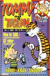 Cover for Tommy og Tigern (Bladkompaniet / Schibsted, 1989 series) #5/1989