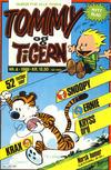 Cover for Tommy og Tigern (Bladkompaniet / Schibsted, 1989 series) #4/1989