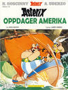 Cover Thumbnail for Asterix (1969 series) #22 - Asterix oppdager Amerika [6. opplag Reutsendelse 803 40]