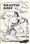 Cover for Kraftig kost (Norsk Tegneserieforum, 1985 series) #6