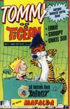 Cover for Tommy og Tigern (Bladkompaniet / Schibsted, 1989 series) #7/1989