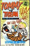 Cover for Tommy og Tigern (Bladkompaniet / Schibsted, 1989 series) #6/1989