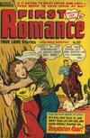 Cover for First Romance (Magazine Management, 1952 series) #20