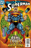 Cover for Superman (DC, 1987 series) #166 [Standard Edition - Direct Sales]