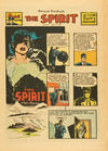Cover for The Spirit (Register and Tribune Syndicate, 1940 series) #6/12/1949