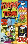 Cover for Tommy og Tigern (Bladkompaniet / Schibsted, 1989 series) #8/1989