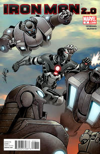 Cover Thumbnail for Iron Man 2.0 (Marvel, 2011 series) #8
