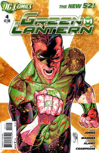 Cover Thumbnail for Green Lantern (DC, 2011 series) #4 [Francis Manapul Cover]