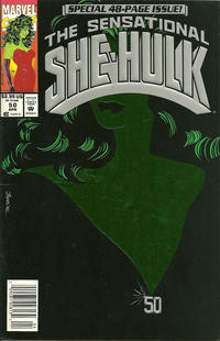 Cover Thumbnail for The Sensational She-Hulk (Marvel, 1989 series) #50 [newsstand]
