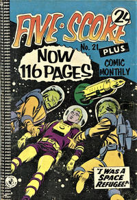 Cover Thumbnail for Five-Score Plus Comic Monthly (K. G. Murray, 1960 series) #21