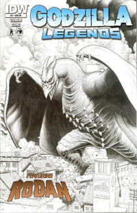 Cover Thumbnail for Godzilla Legends (IDW, 2011 series) #2 [Retailer Incentive]