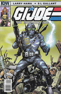 Cover Thumbnail for G.I. Joe: A Real American Hero (IDW, 2010 series) #172 [Cover B]