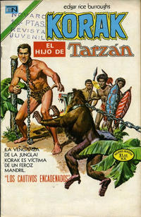 Cover Thumbnail for Korak (Editorial Novaro, 1972 series) #20