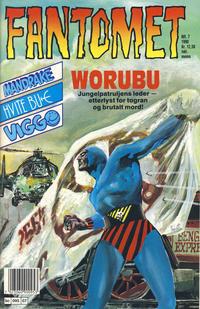 Cover Thumbnail for Fantomet (Semic, 1976 series) #7/1990