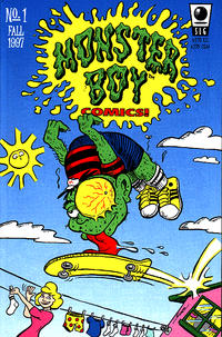 Cover Thumbnail for Monster Boy Comics (Slave Labor, 1997 series) #1