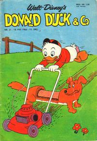 Cover Thumbnail for Donald Duck & Co (Hjemmet / Egmont, 1948 series) #21/1966