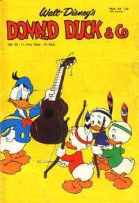Cover Thumbnail for Donald Duck & Co (Hjemmet / Egmont, 1948 series) #20/1966