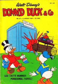 Cover Thumbnail for Donald Duck & Co (Hjemmet / Egmont, 1948 series) #32/1969