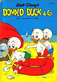 Cover Thumbnail for Donald Duck & Co (Hjemmet / Egmont, 1948 series) #31/1969
