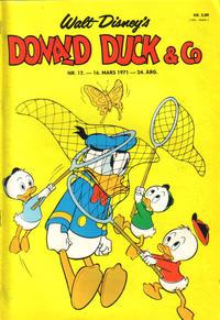 Cover Thumbnail for Donald Duck & Co (Hjemmet / Egmont, 1948 series) #12/1971
