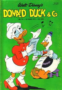 Cover Thumbnail for Donald Duck & Co (Hjemmet / Egmont, 1948 series) #14/1971
